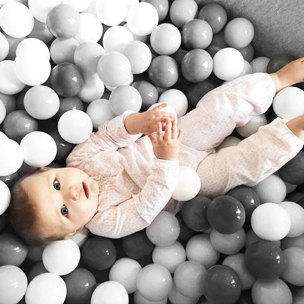 200 Pcs/Lot Plastic Balls Eco-Friendly Colorful Ball Soft Swim Pits Toys For Children Beach Ball Water Pool Ocean Wave Balls