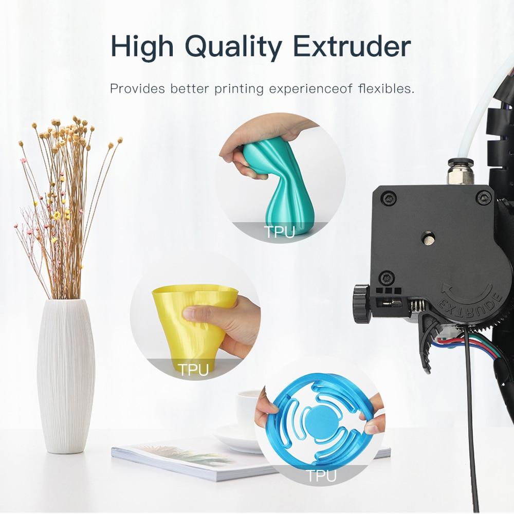 Anycubic Mega S 3d Printer I3 Mega Upgrade Large Size Metal Frame Tpu High Precision Touch Screen Diy 3d Printer Kit Impressora Zeezamicro