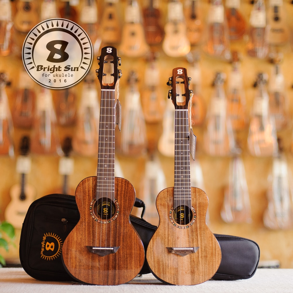 BS-20C, BS-20T, konzert Helle sonne marke ukulelen, massivholz ukulele