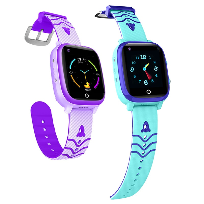Review 4G Kids Smart watch Waterproof GPS WIFI LBS SmartWatch for Children SOS Video Call Location Tracker Anti Lost Monitor Baby Watch