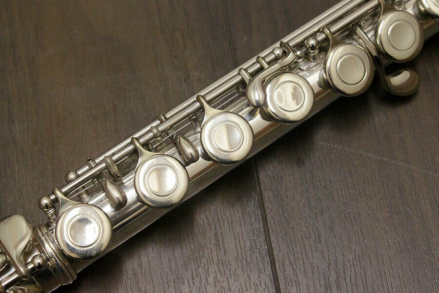 MURAMATSU M-150 16 Holes Closed C Tune Flute High Quality Performance Musical Instrument Copper-nickel Silver Plated Flute With enlarge