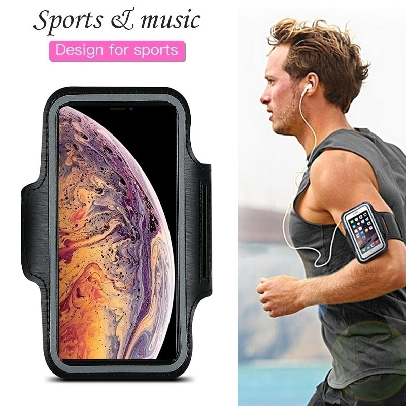 Sports Running Phone Bag Case for iPhone 12 11 Pro XS Max XR X 4s 5 SE 2020 5s iPhone 6 7 8 Plus Cas