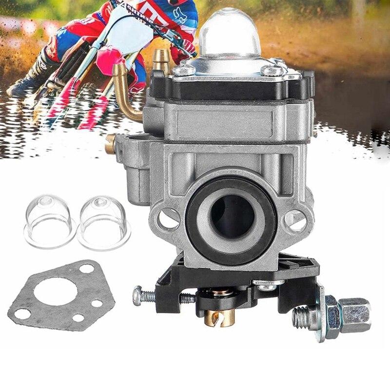 Carburador de motocicleta 11mm 2 tiempos carburador para 43Cc 47Cc 49Cc 50Cc Scooter ATV Dirt Bike cortacésped