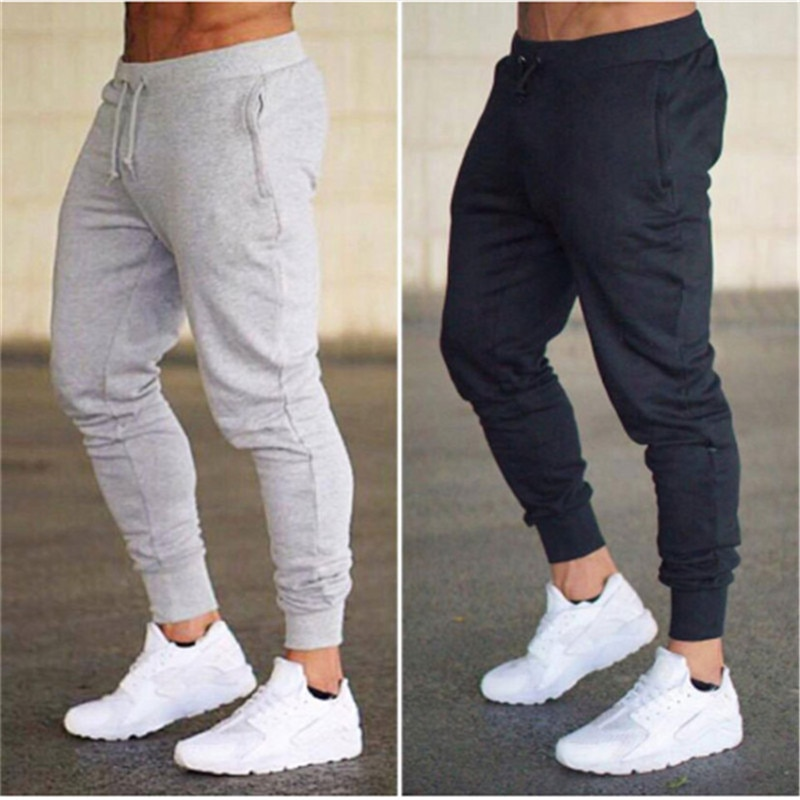 2021 Для мужчин спортивный костюм для бега бренд мужские брюки Повседневное Штаны впитывает пот и Штаны Jogger Повседневное тренажерные залы Фи...