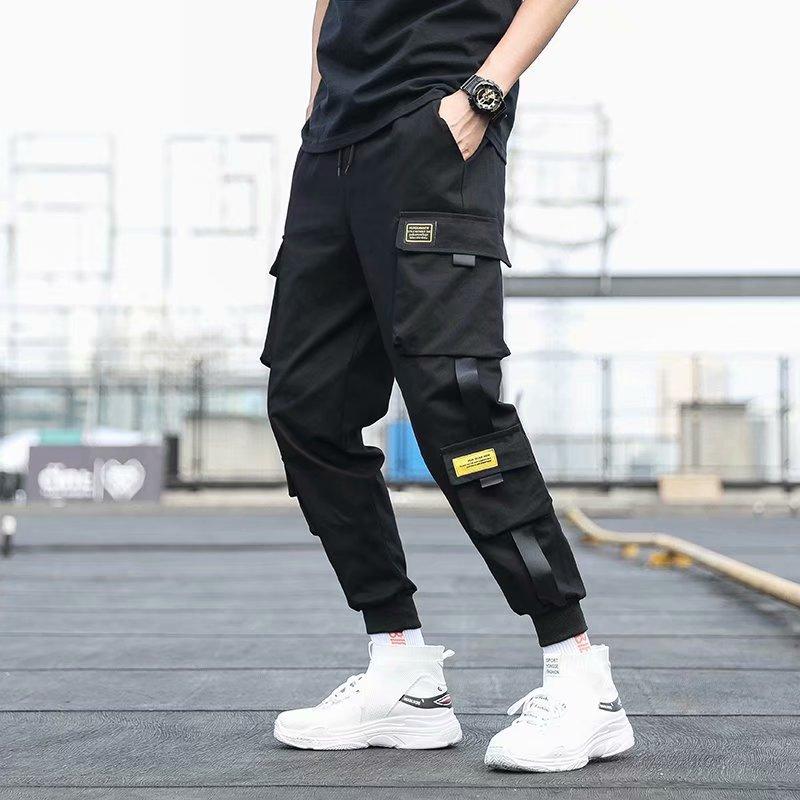 Чоловічі бічні штани з кишенями, - Чоловічий одяг - фото 2