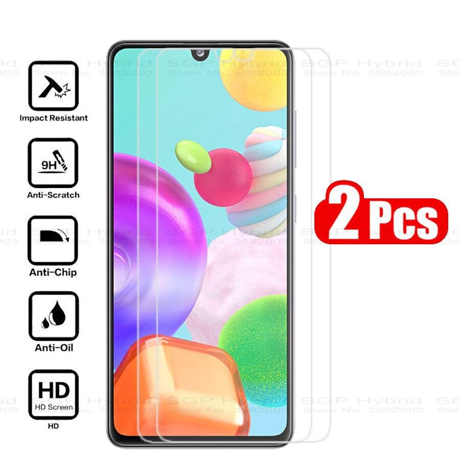 2pcs Protector For Samsung Galaxy A41 Screen Protector Tempered Glass Galaxy A41 Glas For Samsung A