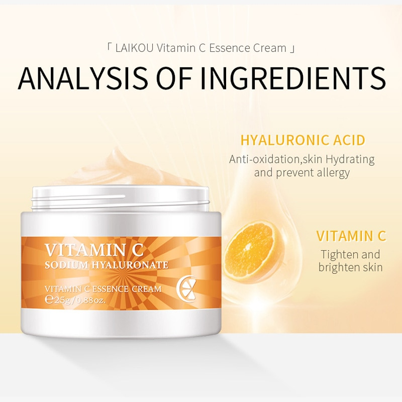 Натуральный Крем для лица, восстанавливающий выцветание, средство для удаления меланина, Осветляющий, витамин С, Осветляющий, фотоблестящи...