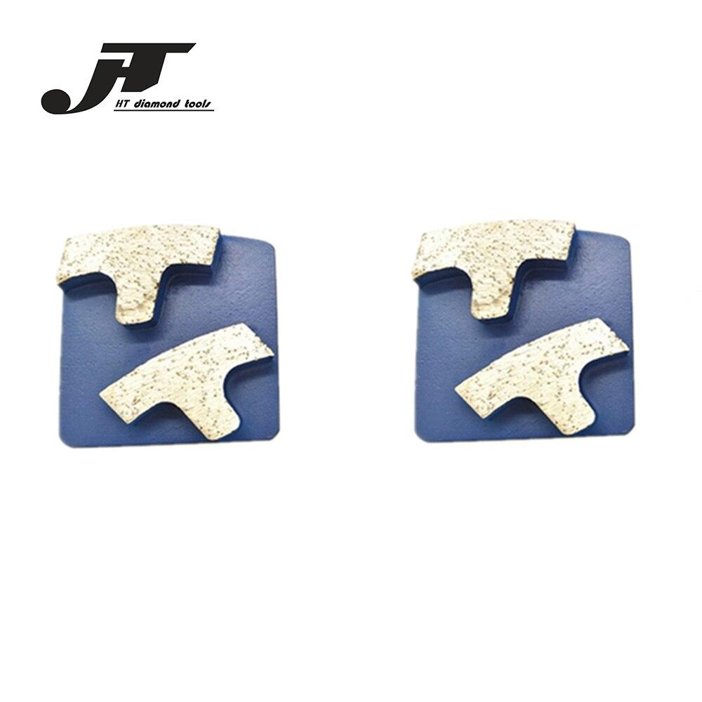 HT Top Quality Husqvarna  Scanmaskin Concrete Polishing Pad Diamonds Floor Grinding segments for Concrete Terrazzo Stone 12PCS