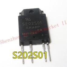 1 قطعة S202S01F S202S01 240VAC 8A TRIAC 4-SIP SIP نوع SSR للتحكم في الطاقة المتوسطة
