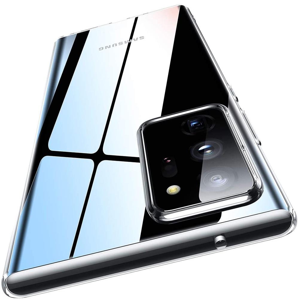 Caso de Telefone claro Para Samsung Galaxy Nota 20 Ultra 10 9 S20 Plus S10 E S9 S8 A51 A71 A50 A70 A40 A21S A20E A31 Acessórios de Cobertura