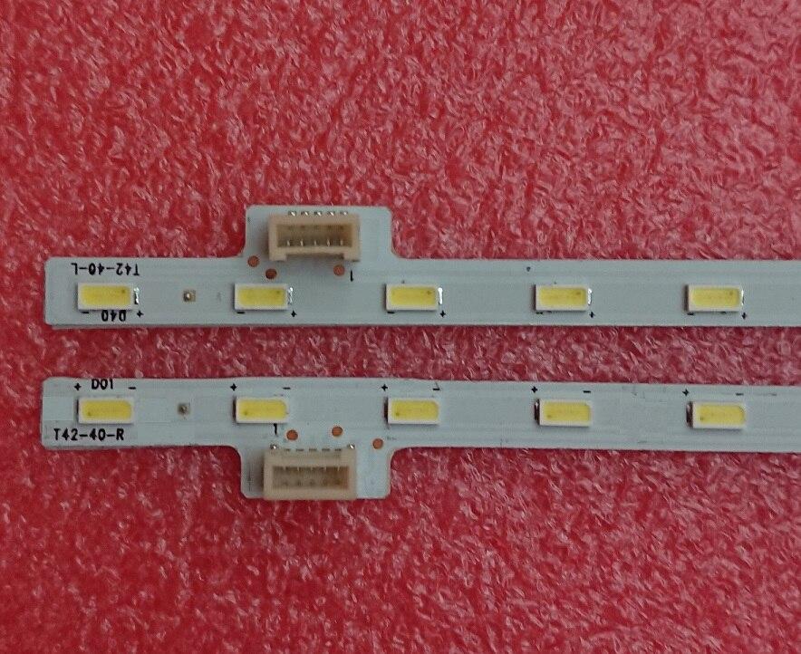 New Original 2 Pieces/lot 40LED 463MM  LED strip for KDL-42W650A 74.42T35.001-0-DX1 74.42T31.002-0-DX1 13510N T42-40-R L
