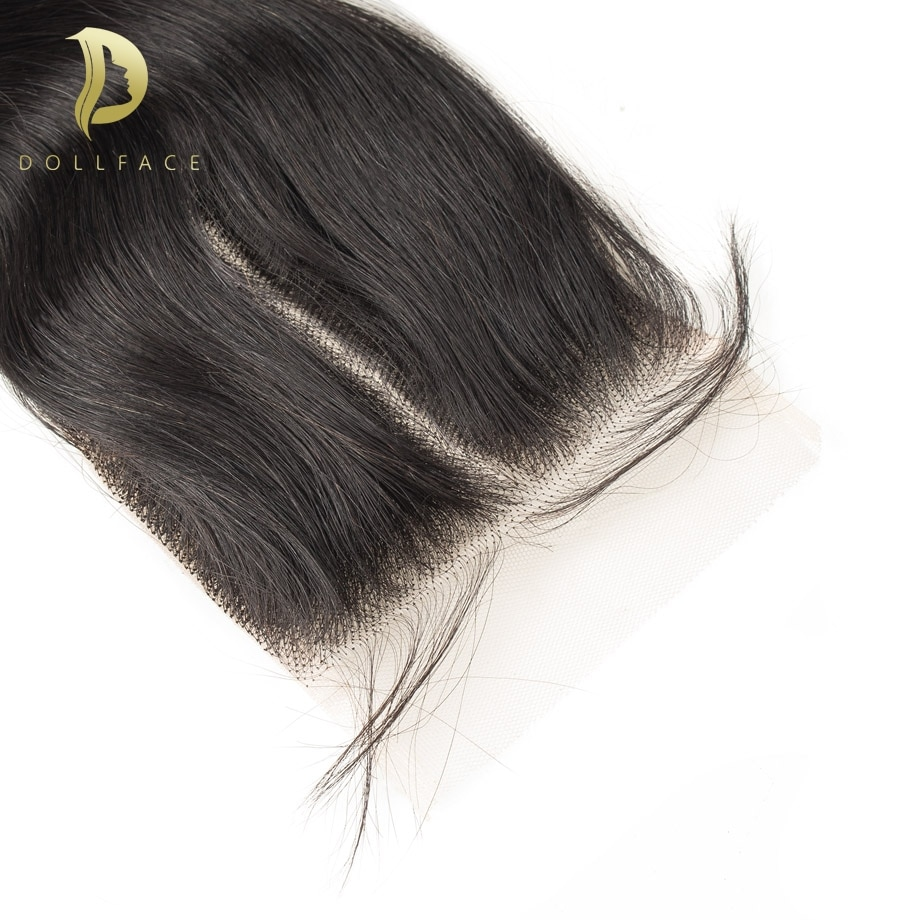 100% human hair closure 4x4 brazilian hair straight body wave 4x4 frontal closure pre plucked remy hair deep water wave closure