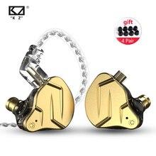 KZ ZSN Pro X 1BA + 1DD 하이브리드 기술 HIFI Bass 이어 버드 이어폰 모니터 이어폰 스포츠 소음 제거 헤드셋