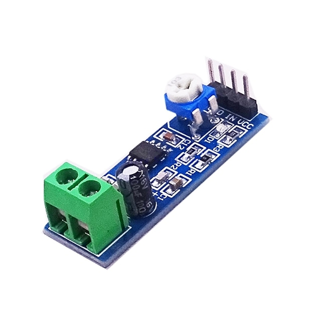 TL072 Op Amp High Impedance Preamplifier Preamp Pre-Amplifier Board Guitar Instrument A5