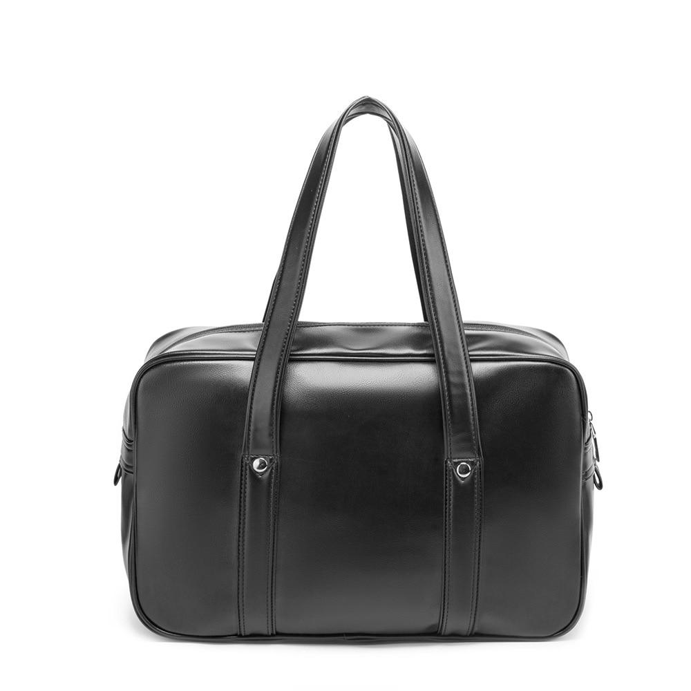 new single-shoulder school bag high-quality PU wearable and waterproof computer bag, multi-functional travel handbag