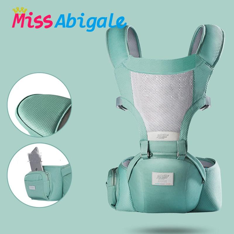 Portabebés ergonómico MissAbigale, mochila de canguro, portabebés para recién nacidos, portabebés, portabebés frontal, portabebés