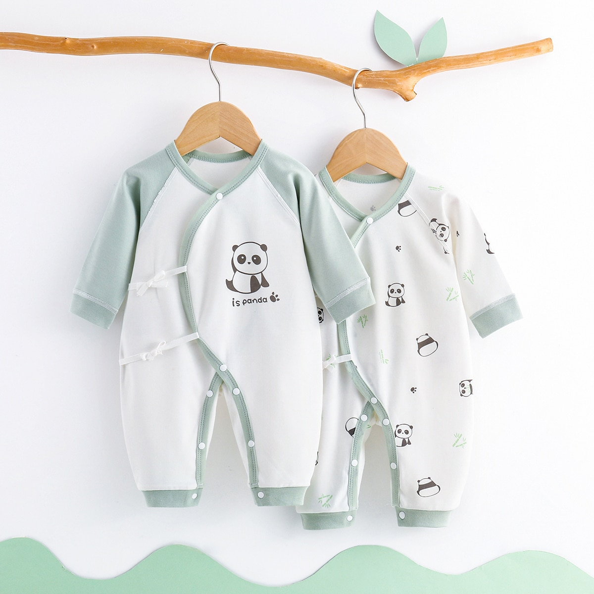 Baby Rompers Newborn Baby Clothes For Girls Boys Long Sleeve ropa bebe Jumpsuit Baby Clothing  Outfits cute newborn baby clothing long sleeve cotton solid baby rompers peter pan collar girls boys clothes jumpsuit infant costumes