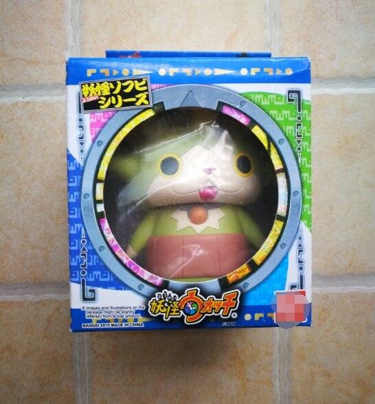 9 см японский мультфильм Yokai часы фигурка кукла. ПВХ детский подарок игрушка yokai-часы Jibanyan Roboyan
