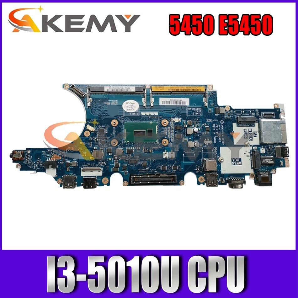ZAM70 LA-A901P اللوحة لديل خط العرض 5450 E5450 اللوحة المحمول SR23Z I3-5010U CPU 100% العمل CN-0PVYKY 0PW12Y 0PVYKY