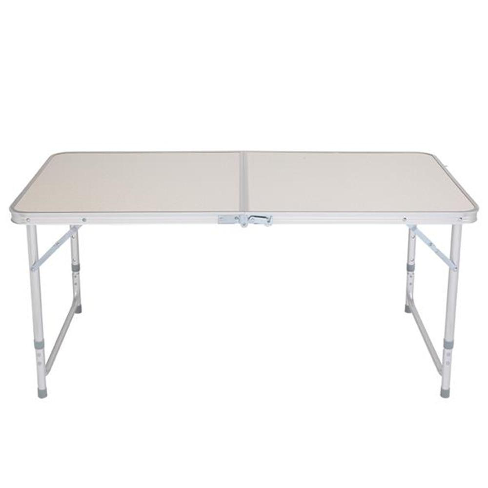 120 x 60 x 70 4Ft Portable Multipurpose Folding Table White Garden Desk Outdoor Dinning Table Portable