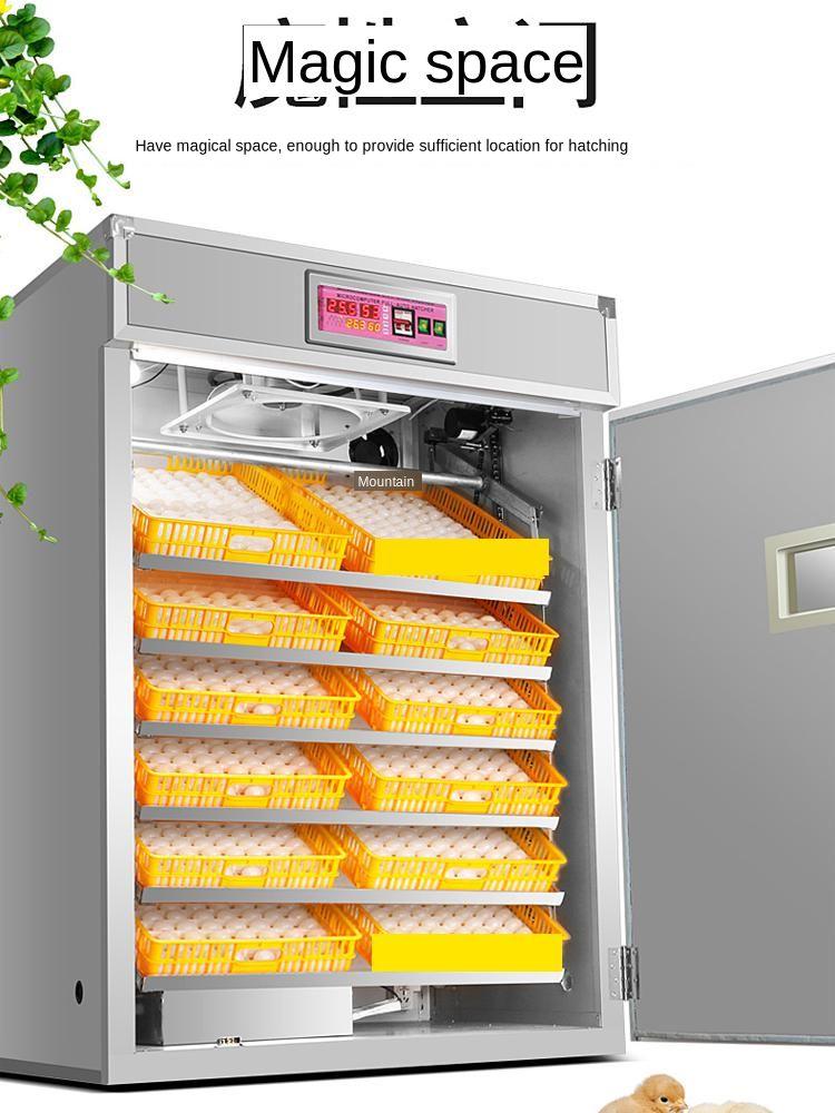Incubadora inteligente automática pequeña incubadora para el hogar máquina para incubar pollos y patos incubadora de temperatura constante