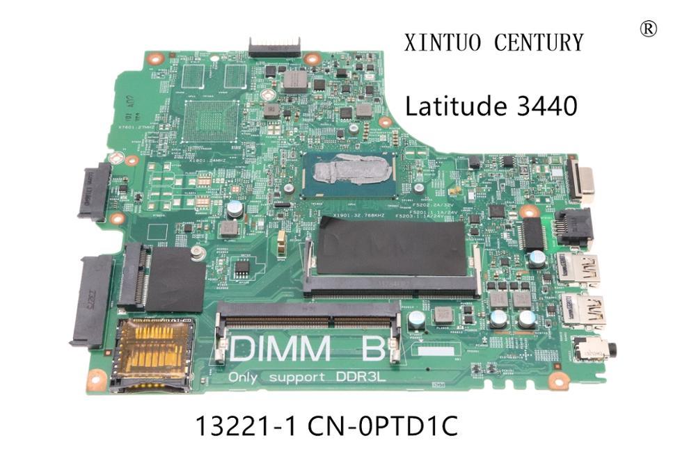 CN-0PTD1C 0PTD1C PTD1C لديل خط العرض 3440 اللوحة المحمول DL340-HSW MB 13221-1 WVPHP SR16Q I3-4010U 100% اختبار العامل