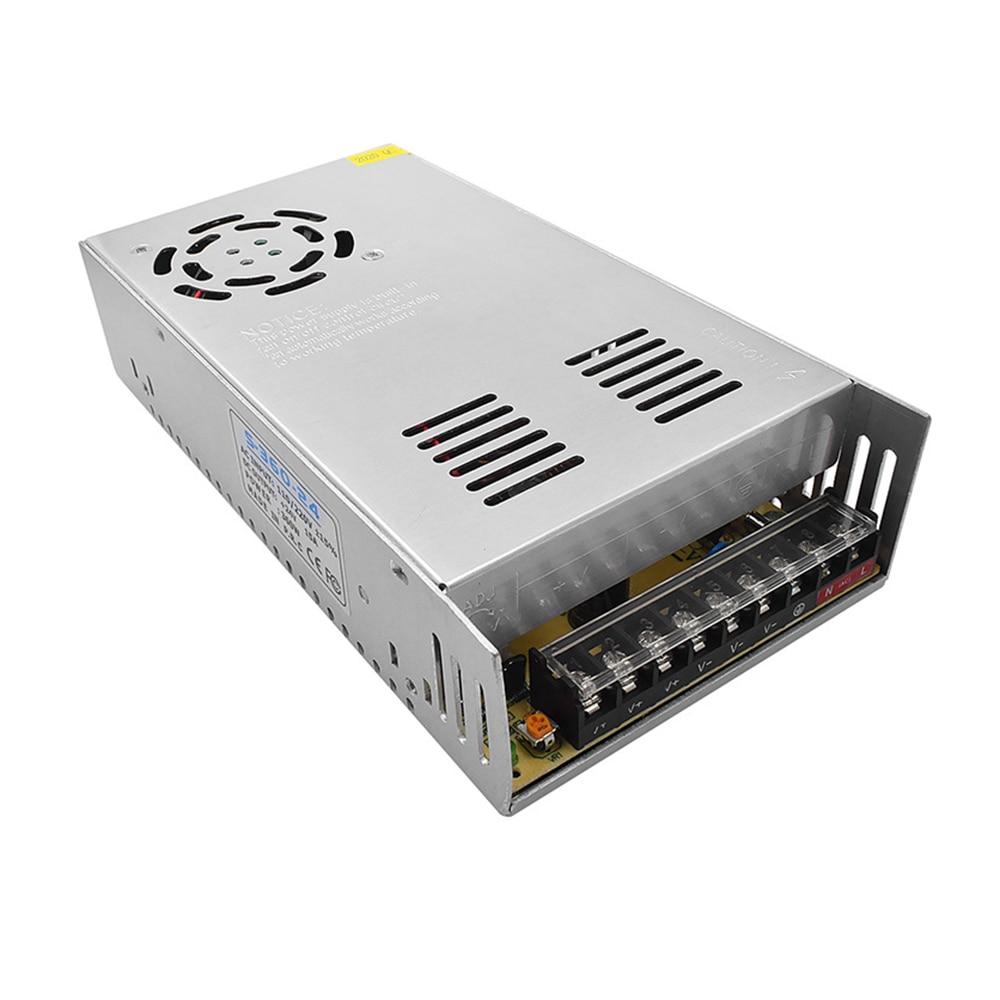 طابعة ثلاثية الأبعاد تحويل التيار الكهربائي التيار المتناوب 110 فولت/220 فولت تيار مستمر 24 فولت 15A/12 فولت 30A 360 واط محول طاقة محول لأجزاء طابعة ثل...