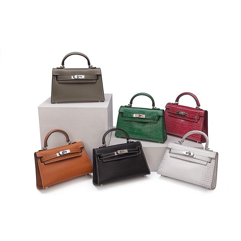 Luxury Crocodile Designer Bags 2021 High Quality Mini Women Handbags Famous Brand Women Bag Messenger Alligator Ladies Bag