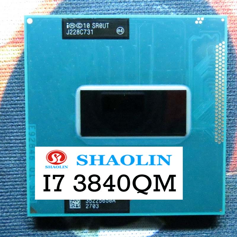 I7-3840QM i7 3840QM SR0UT 2.8 GHz رباعية النواة ثمانية موضوع معالج وحدة المعالجة المركزية الأصلي شاولين النسخة الرسمية الأصلي شحن مجاني