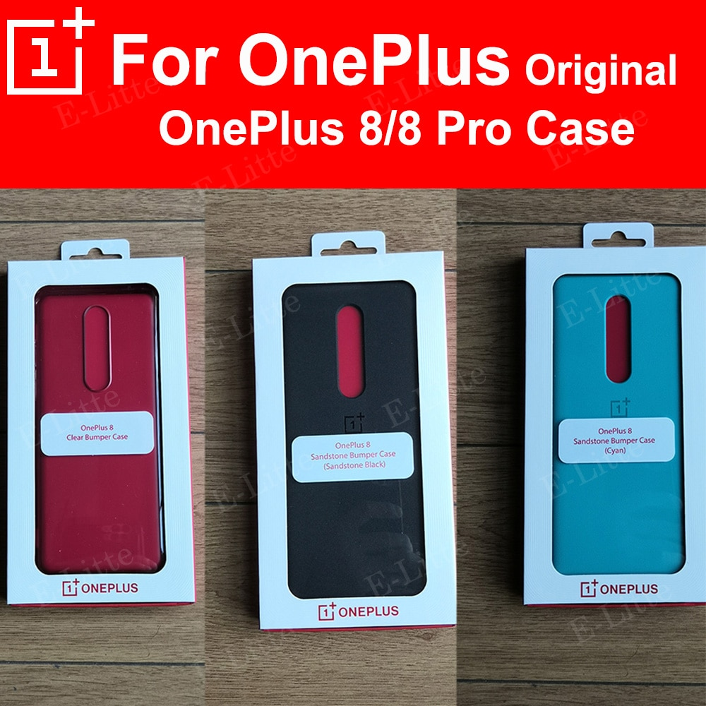 Original para OnePlus 8 Pro funda Karbon funda de protección OnePlus 8 Nylon Karbon funda de protección funda protectora equipada