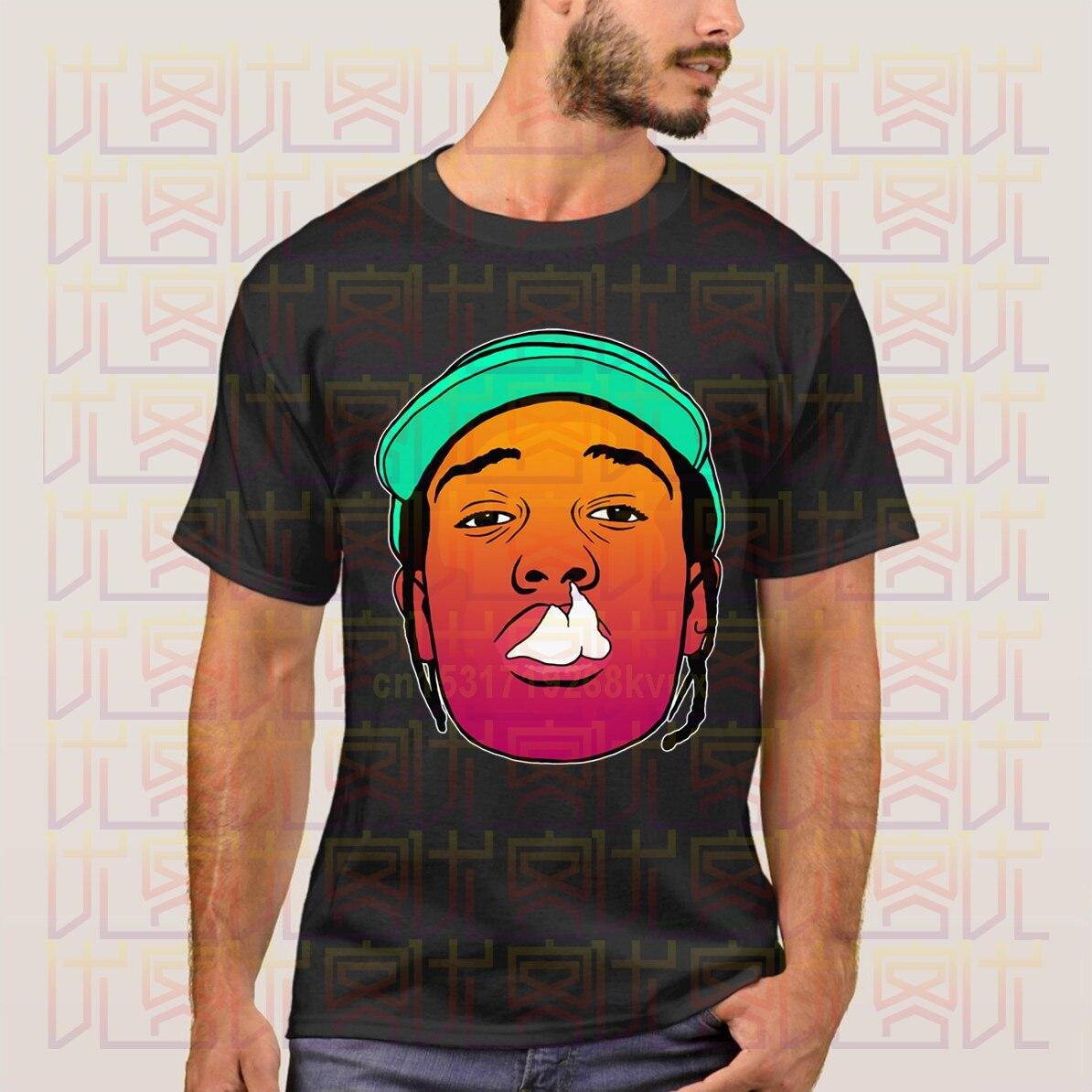 Novedad 2020 verano Asap Mob Logo 100% ropa de algodón Casual camiseta presente Homme Tops camisetas S-4XL
