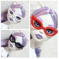 10pcslot monster doll accessories plastic glasses for dolls