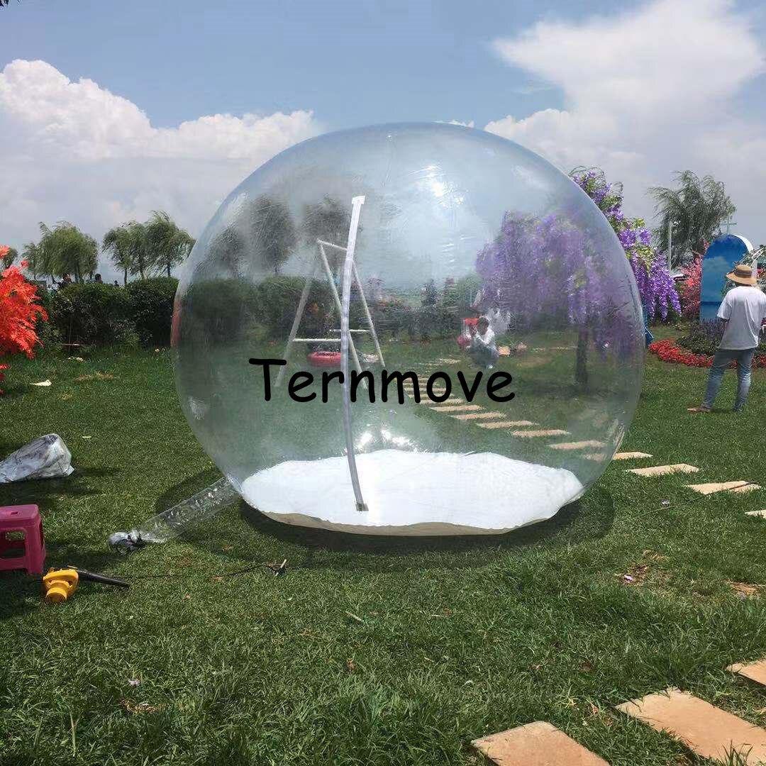 Sala inflável da bolha de 5m, casa inflável clara da bolha, fabricante da barraca do evento da bolha china, barraca inflável da festa para eventos