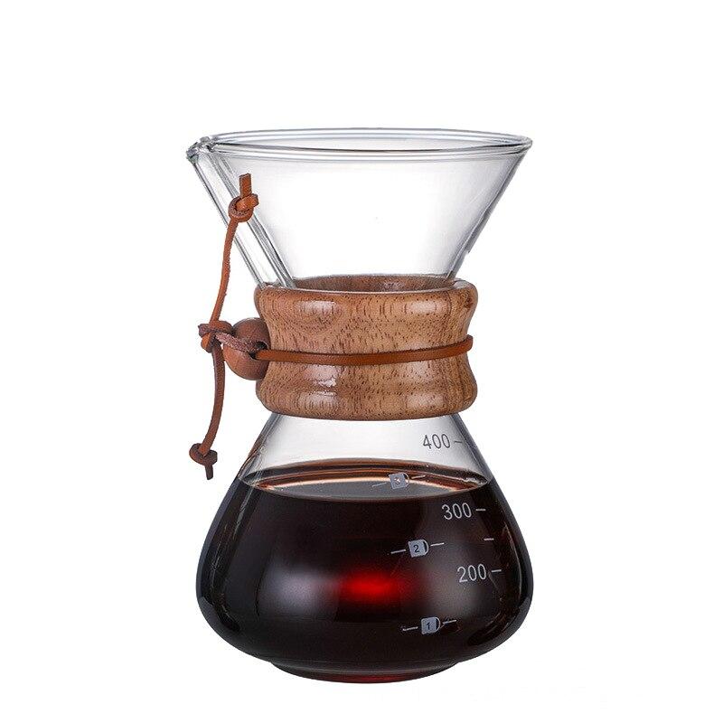 Filtro percolador cafetera Camping elaboración portátil café Espresso herramientas Cafeteras eléctricas MOCA...