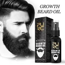 PURC Growth Beard Oil Grow Beard Thicker & More Full Thicken Hair Beard Oil For Men Beard Grooming T