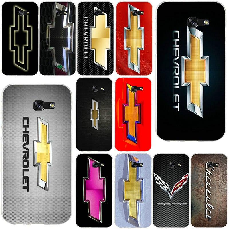 Fundas de teléfono móvil de TPU de silicona suave con logotipo Chevy para Samsung Galaxy A3 A5 A7 J1 J2 J3 J5 j7 2015 de 2016 a 2017