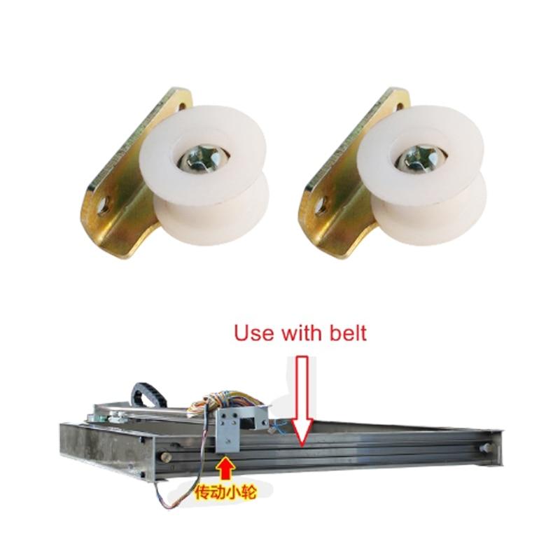 2 шт./лот плоттер колесный приводной ременной приводной шкив, плоттер, лазерная машинка, детали, синхронное колесо для CO2 3020 3040 4040 6040