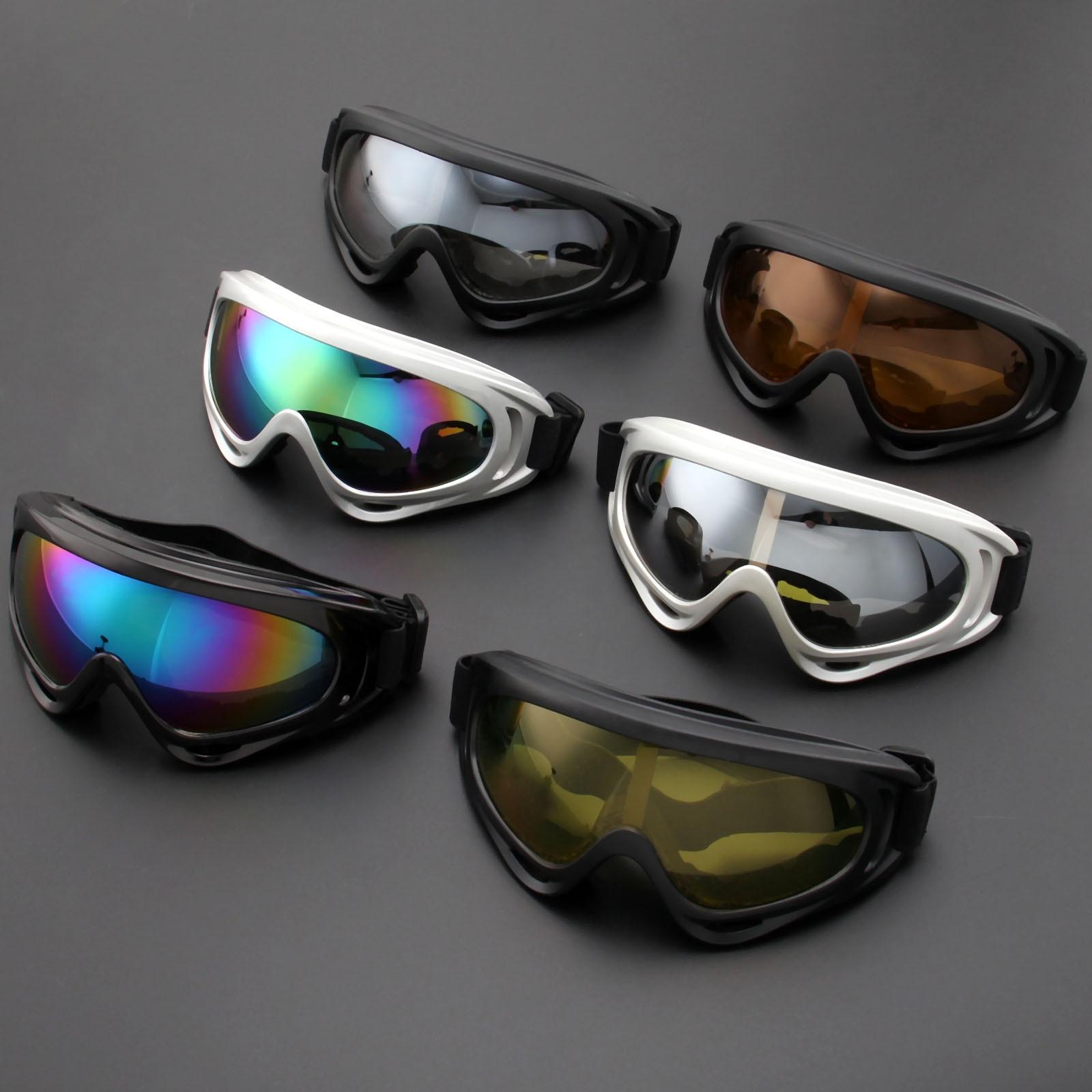 Motorcycle Glasses Anti Motor Sunglasses Sports Ski Goggles Windproof Dustproof UV Protection off-Road Hemlet Bike Eyewear
