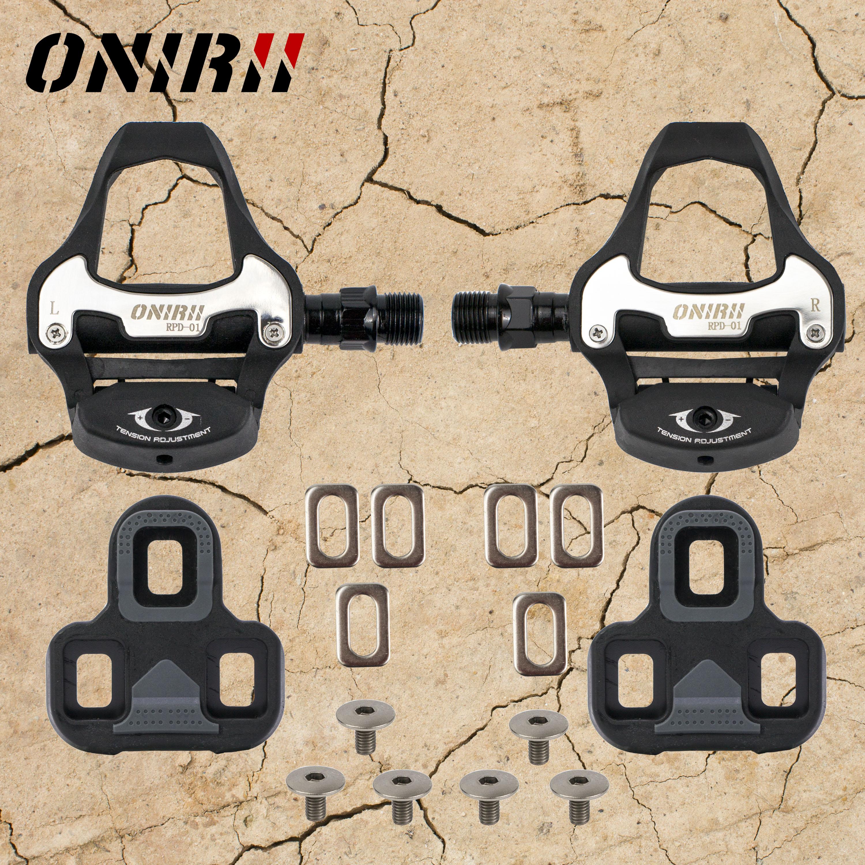 ONIRII-Pedal de bloqueo automático para bicicleta de montaña, pedales sin clip L/R...