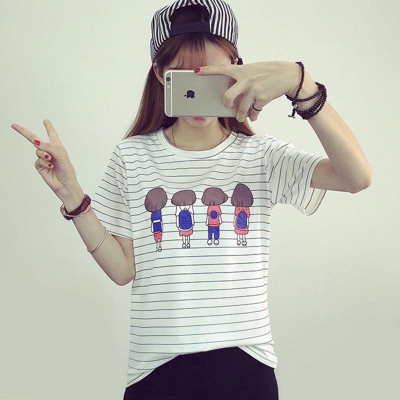 2020  Tops T-shirts Cotton Female Fashion Womens Garment