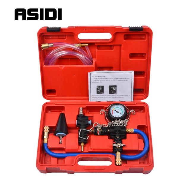 Система охлаждения, Вакуумная очистка и заправка автомобильного фургона для радиатора, комплект PT1384