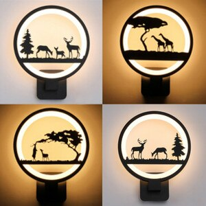 Morden Wall Lamp LED Wall Sconce Lights Acrylic Creative For Bedroom Living Room Corridor Home Decoration wandlamp Light Fixture
