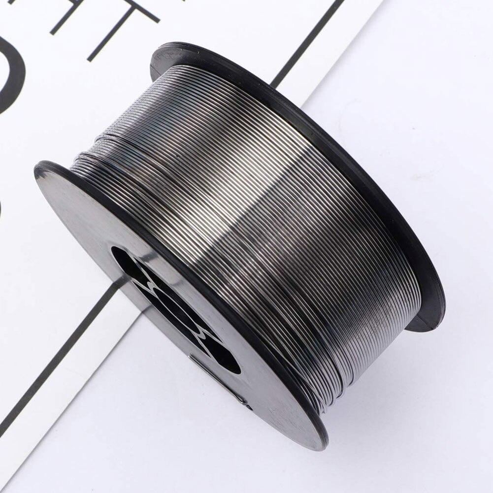 Welding Wire E71T-GS 0.8mm 1kg Alloy Gasless Flux Core Spool Rosin Solder Soldering Roll Silver 1Roll