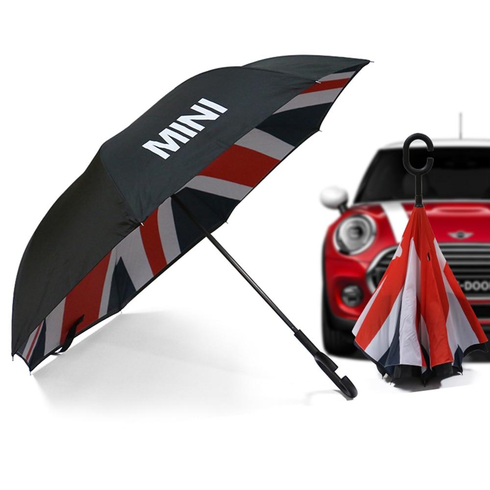 Car Waterproof Umbrella Sunshade Windproof Folding Shade For Mini Cooper One JCW S D R53 R55 R56 F54 F60 Countryman Accessories