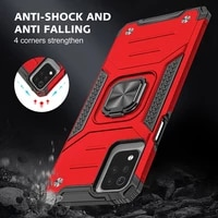 magnetic metal ring stand holder armor shockproof phone case for lg k53 k52 soft tpu hard plastic protective cover coque fundas