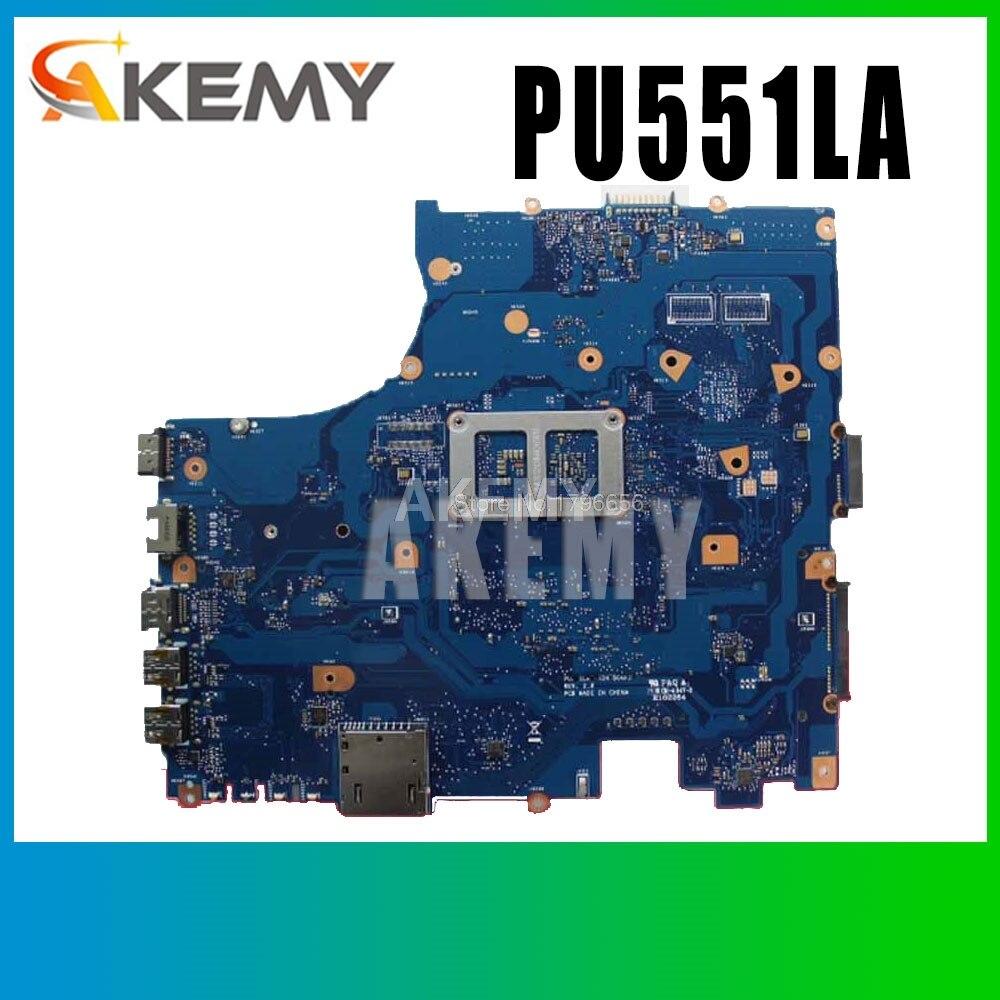 PU551LA 2957U ل asus PRO551L PU551L PU551LA اللوحة المحمول PU551LA rev 2.0 اللوحة 100% اختبار s-2