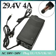 1 Pc Beste Prijs 29.4V4A 29.4V 4A Li-Ion Batterij Lader Voor 25.2V 25.9V 7 Li-Ion Batterij Li-Ion batterij Voor Lader