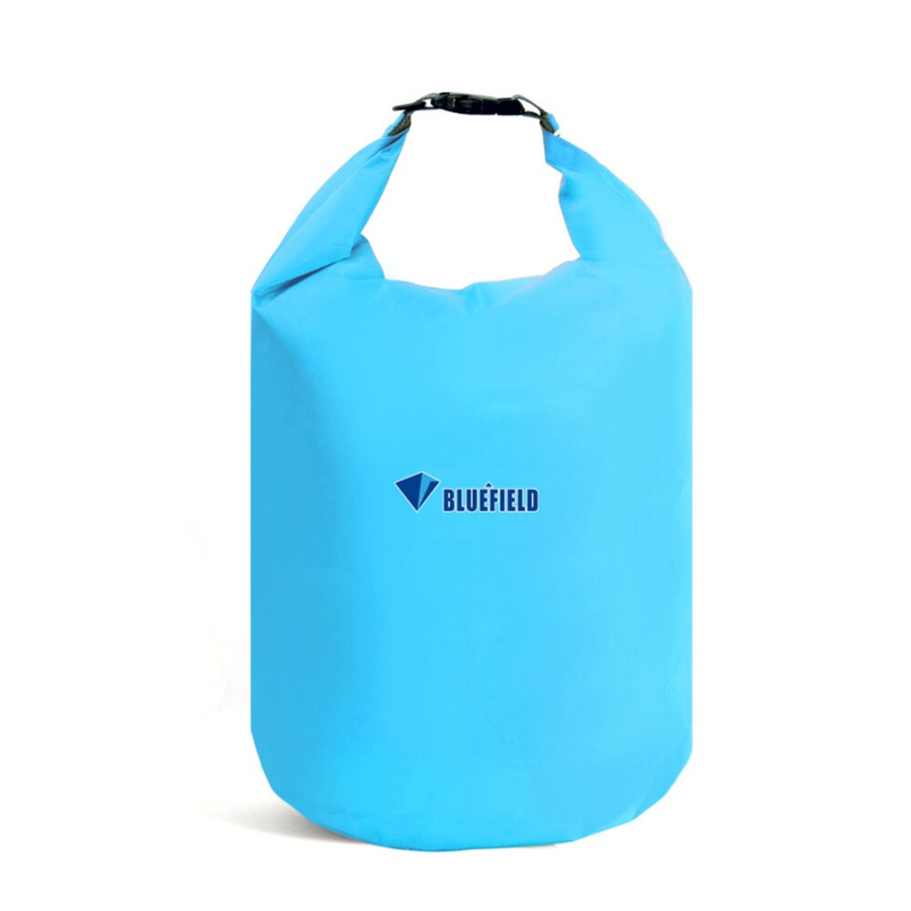 Bluefield 5 colores 10L 20L 40L bolsas de agua bolsas impermeables de almacenamiento bolsas secas Canoa Kayak seco en descenso de ríos bolsa con gancho de correa ajustable