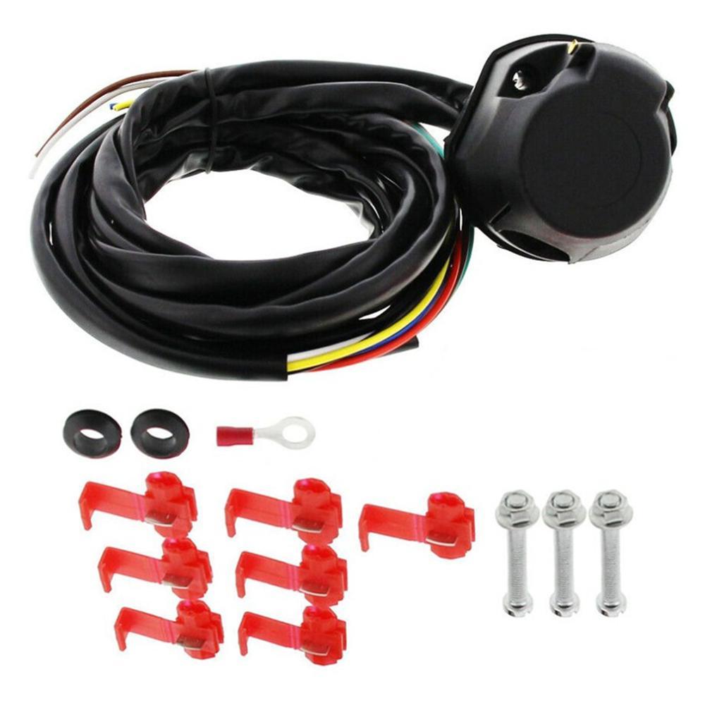 Set 13 Pin Electrical Kit E-Kit Harness 7 Core 2M Trailer Cable Kit  Trailer Socket Car Accessories dropshipping