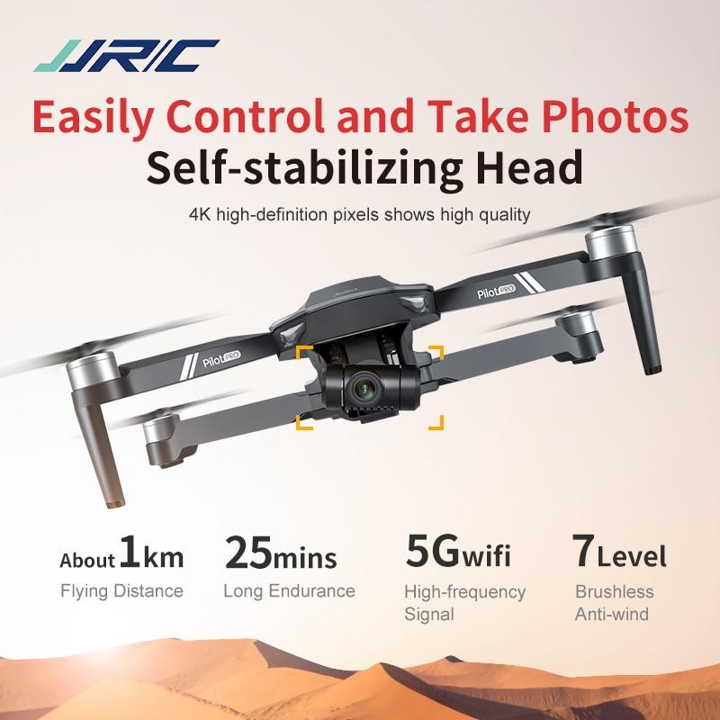 Фото - JJRC X19 2.4G 5G WIFI Optical Flow Positioning Dual Mode 4K HD Camera Brushless Motor Foldable RC Drone Quadcopter RTF Vs X17 folding rc quadcopter optical flow 5g esc dual camera gps brushless motor remote control drone